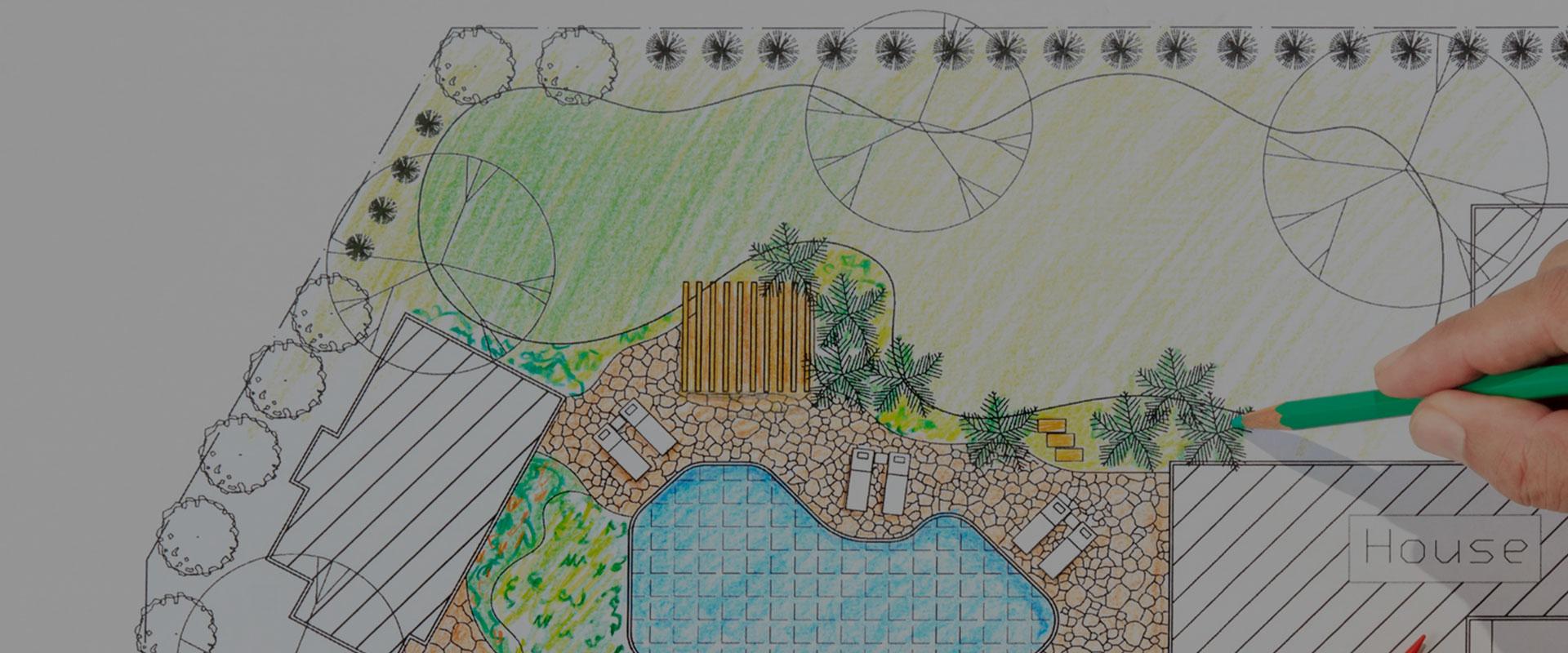 Bauplan Zeichnung